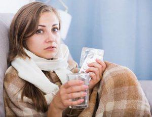 Winterzeit Erkältungszeit