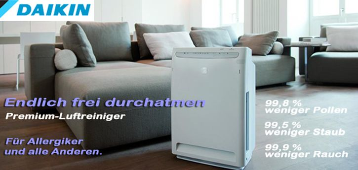jetzt wohlf hlluft tanken saubere luft dank daikin mc 70l. Black Bedroom Furniture Sets. Home Design Ideas